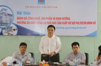 dinh huong phuong an khoi dong lai nha may xo soi dinh vu