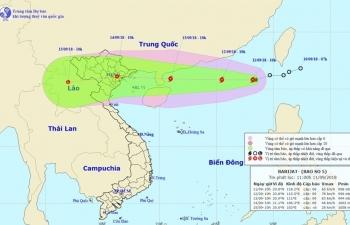 TKV triển khai các biện pháp ứng phó với cơn bão số 5