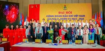 8 đại biểu CĐ DKVN tham dự Đại hội XII Công đoàn Việt Nam