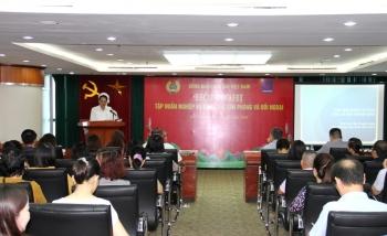 CĐ DKVN tổ chức tập huấn công tác văn phòng và đối ngoại năm 2020