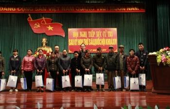 Chủ tịch HĐTV PVN Trần Sỹ Thanh tiếp xúc cử tri tại huyện Bắc Sơn
