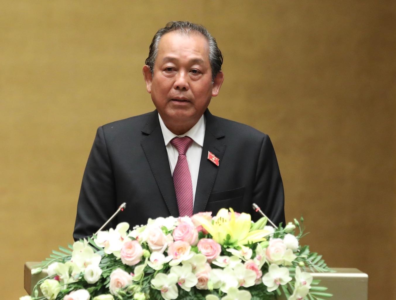 Phó Thủ tướng Thường trực Trương Hòa Bình: NMNĐ Thái Bình 2 hoạt động vào năm 2021-2022