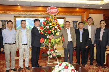 Hội CCB Tập đoàn DKQGVN chúc mừng Hội CCB Việt Nam nhân dịp 28 năm thành lập