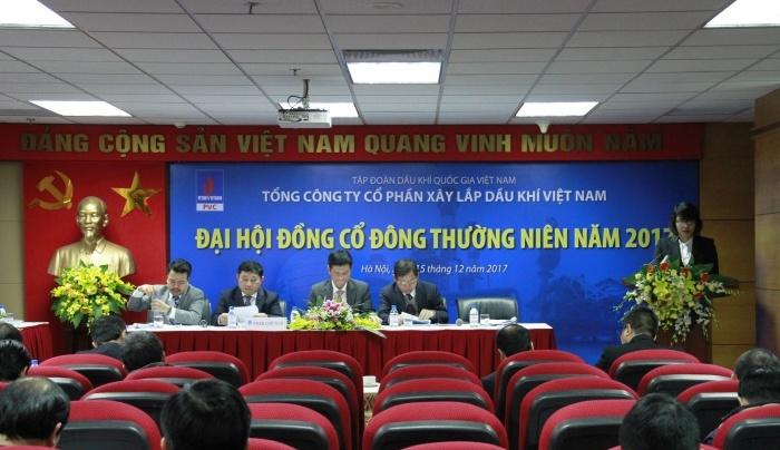 tong cong ty cp xay lap dau khi to chuc dai hoi dong co dong thuong nien nam 2017