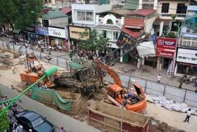 70% cẩu tháp tại Hà Nội vi phạm hành lang an toàn
