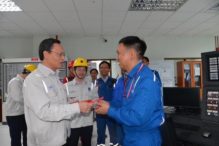 lanh dao bsr kiem tra cong tac van hanh san xuat trong dip tet nguyen dan 2019