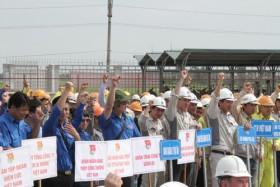 Nhà máy Nhiệt điện Thái Bình 2: Vì mục tiêu vượt tiến độ xử lý nền