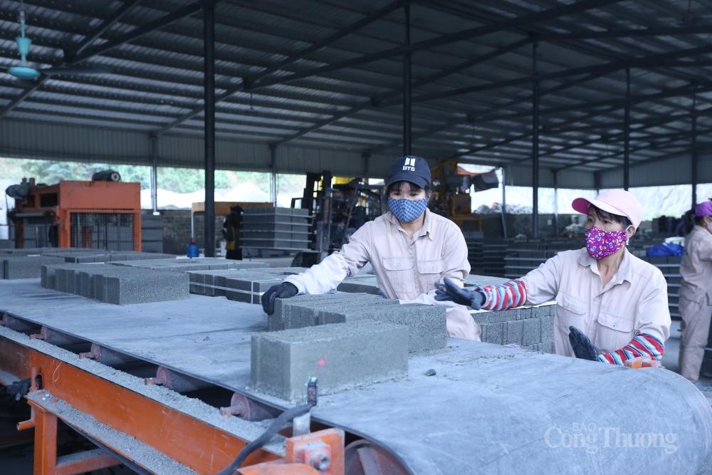 Chất thải nhà máy công nghiệp: Nguồn nguyên liệu dồi dào cho sản xuất gạch không nung
