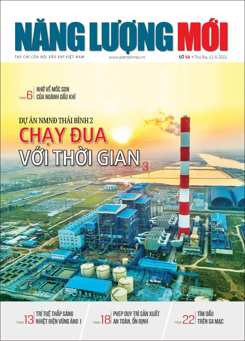 Đón đọc Tạp chí Năng lượng Mới số 58, phát hành thứ Ba ngày 11/5/2021