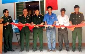 Hội CCB PVN tặng nhà Nghĩa tình đồng đội tại Quảng Ngãi