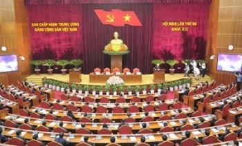 Bế mạc Hội nghị lần thứ ba Ban Chấp hành Trung ương Đảng khóa XII