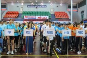 """Sôi nổi """"Ngày hội Văn hóa Thể thao Thanh niên Dầu khí năm 2012"""" khu vực Đông Nam Bộ"""