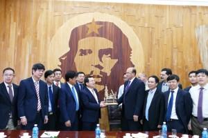 PVN và Cupet bàn kế hoạch thăm dò khai thác dầu khí ở Cuba