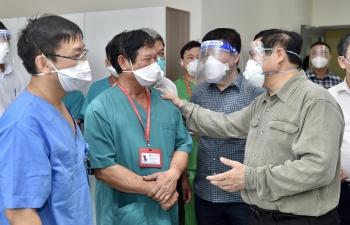 Kết luận của Thủ tướng Chính phủ Phạm Minh Chính tại cuộc họp trực tuyến với cấp xã, phường phía Nam về phòng, chống dịch COVID-19