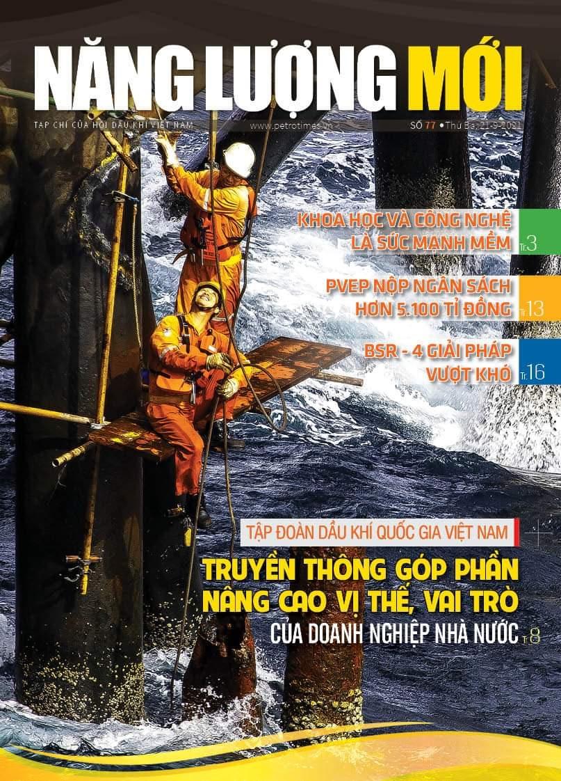 Đón đọc Tạp chí Năng lượng Mới số 77, phát hành thứ Ba ngày 21/9/2021