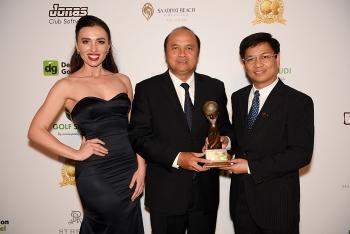 """Việt Nam đạt """"cú đúp"""" giải thưởng tại World Golf Awards 2019"""