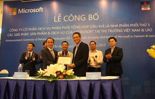 PSD trở thành nhà phân phối Microsoft tại Việt Nam và Lào