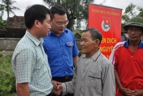 Đoàn Thanh niên PVN thực hiện an sinh xã hội tại Hà Tĩnh, Quảng Bình
