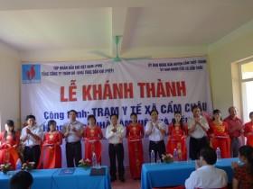 PVEP bàn giao trạm y tế ở Thanh Hóa