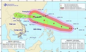 Tin mới nhất về bão số 5: Gió giật cấp 10