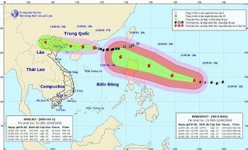 Sáng mai (13/9), bão số 5 ảnh hưởng vịnh Bắc Bộ