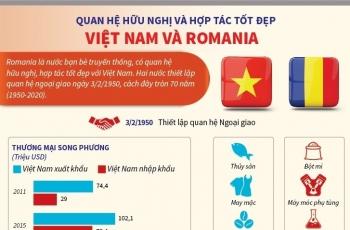 Hợp tác Dầu khí Việt Nam - Rumani