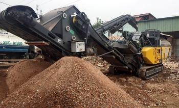 Nguồn nguyên liệu phế thải xây dựng đang bị lãng phí