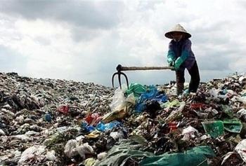 Sau 10 năm, chất thải sinh hoạt nước ta đã tăng 46%