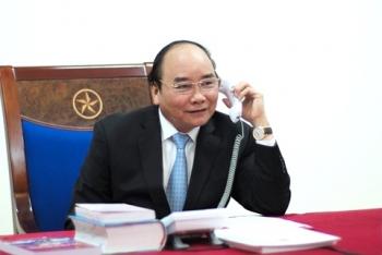 Thủ tướng Nguyễn Xuân Phúc điện đàm với Thủ tướng Nga