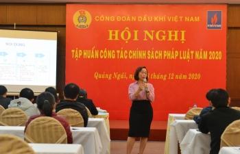 CĐ DKVN tổ chức Hội nghị Tập huấn công tác chính sách pháp luật năm 2020 tại miền Trung
