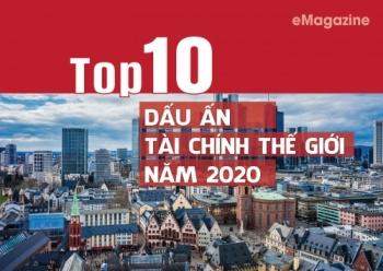 Top 10 dấu ấn tài chính thế giới năm 2020