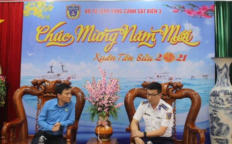 Công đoàn Dầu khí Việt Nam, Công đoàn PV Drilling thăm Cảnh sát biển Vùng 3