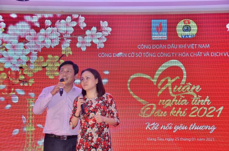 """Công đoàn PVChem tổ chức thành công """"Xuân nghĩa tình Dầu khí   Kết nối yêu thương 2021"""" khu vực phía Nam"""