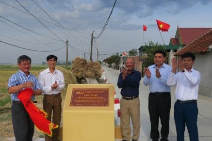 Vietsovpetro khánh thành công trình an sinh xã hội tại Hải Dương, Nghệ An