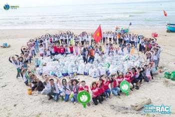 """Tuổi trẻ Vietsovpetro với chương trình """"Ngày xưa biển không có rác như bây giờ"""""""