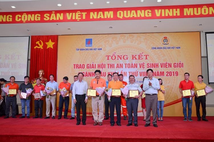 tong ket va trao giai hoi thi an toan ve sinh vien gioi nganh dau khi lan thu viii nam 2019