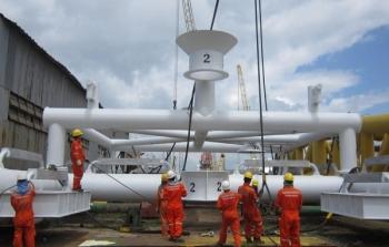 Vietsovpetro: Xí nghiệp Xây lắp với lĩnh vực cơ khí chế tạo