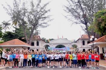 """Ban Nữ công Vietsovpetro tổ chức hội thi """"Leo núi vì sức khỏe cộng đồng năm 2020"""""""