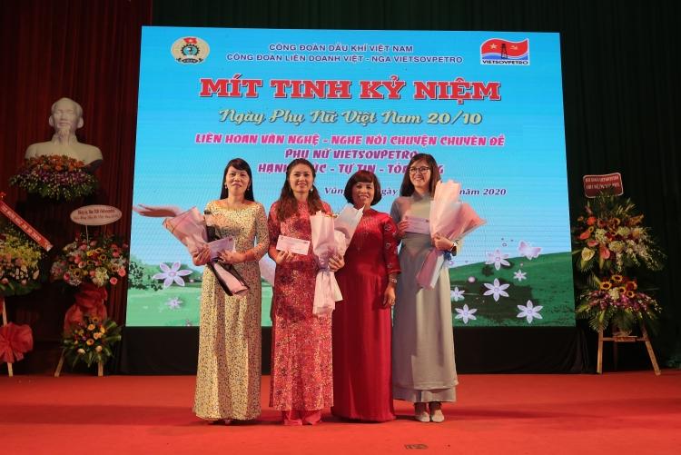 Phụ nữ Vietsovpetro hạnh phúc, tự tin tỏa sáng