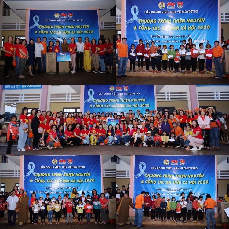 Đoàn Thanh niên  và Ban Nữ công Vietsovpetro tổ chức chương trình tập huấn kết hợp về nguồn, an sinh xã hội 2020