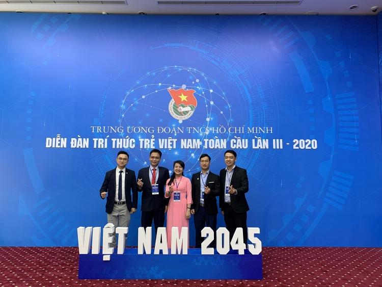 Giảng viên PVU tham dự Diễn đàn Trí thức trẻ Việt Nam toàn cầu năm 2020