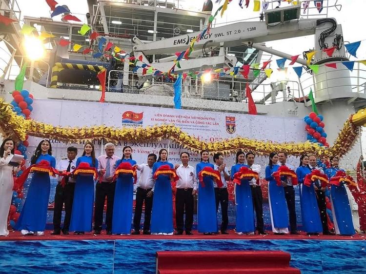 Xí nghiệp Vận tải biển và Công tác lặn đưa vào hoạt động 2 tàu mới