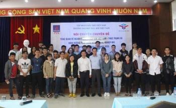 PVU tổ chức nói chuyện Chuyên đề Tổng quan về ngành công nghiệp khí Việt Nam