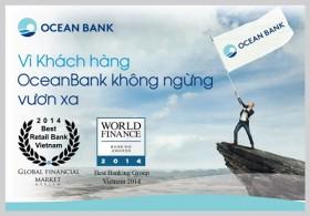 OceanBank liên tiếp nhận 3 giải thưởng Quốc tế uy tín
