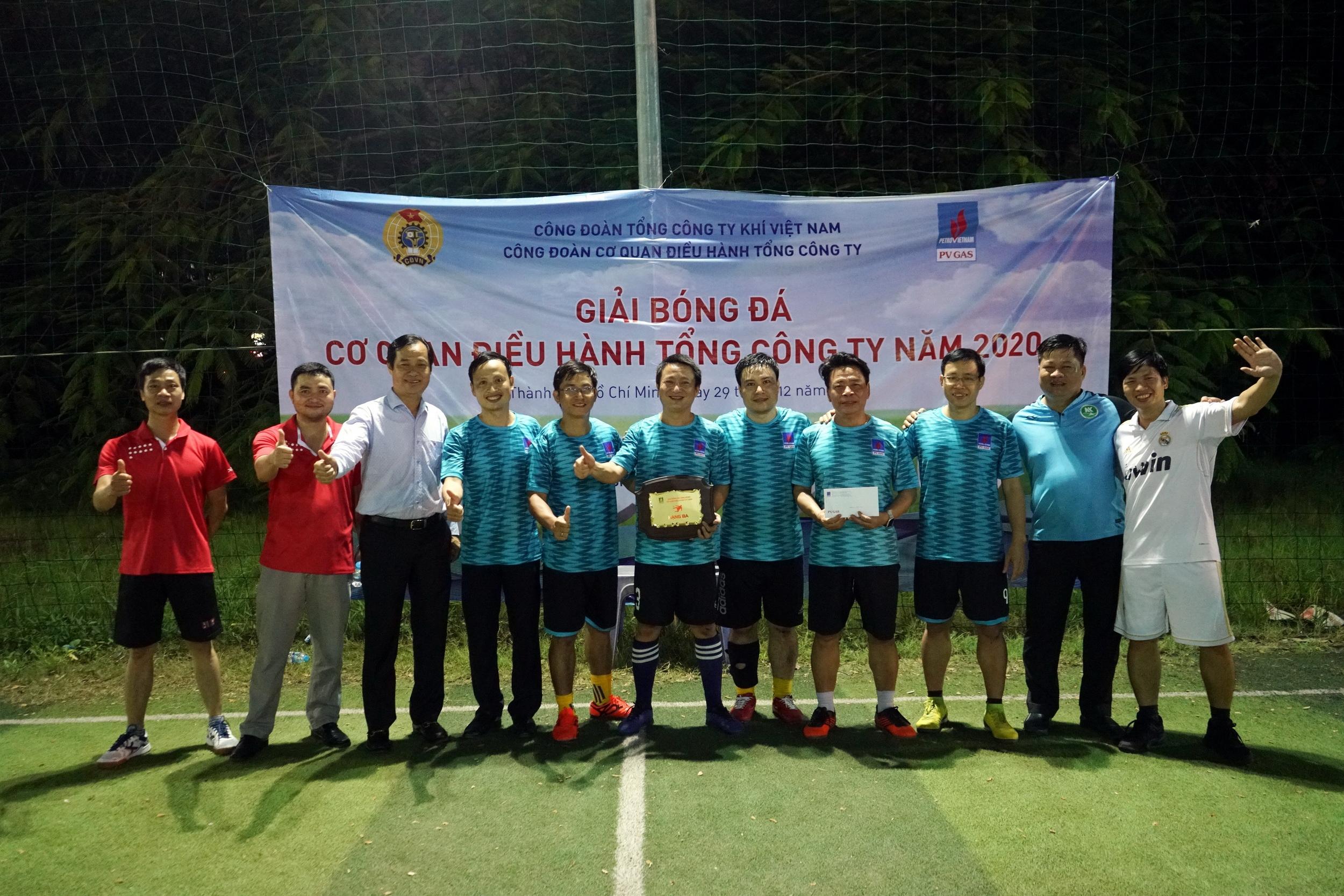 Giải Ba của Giải bóng đá CQĐH PV GAS 2020