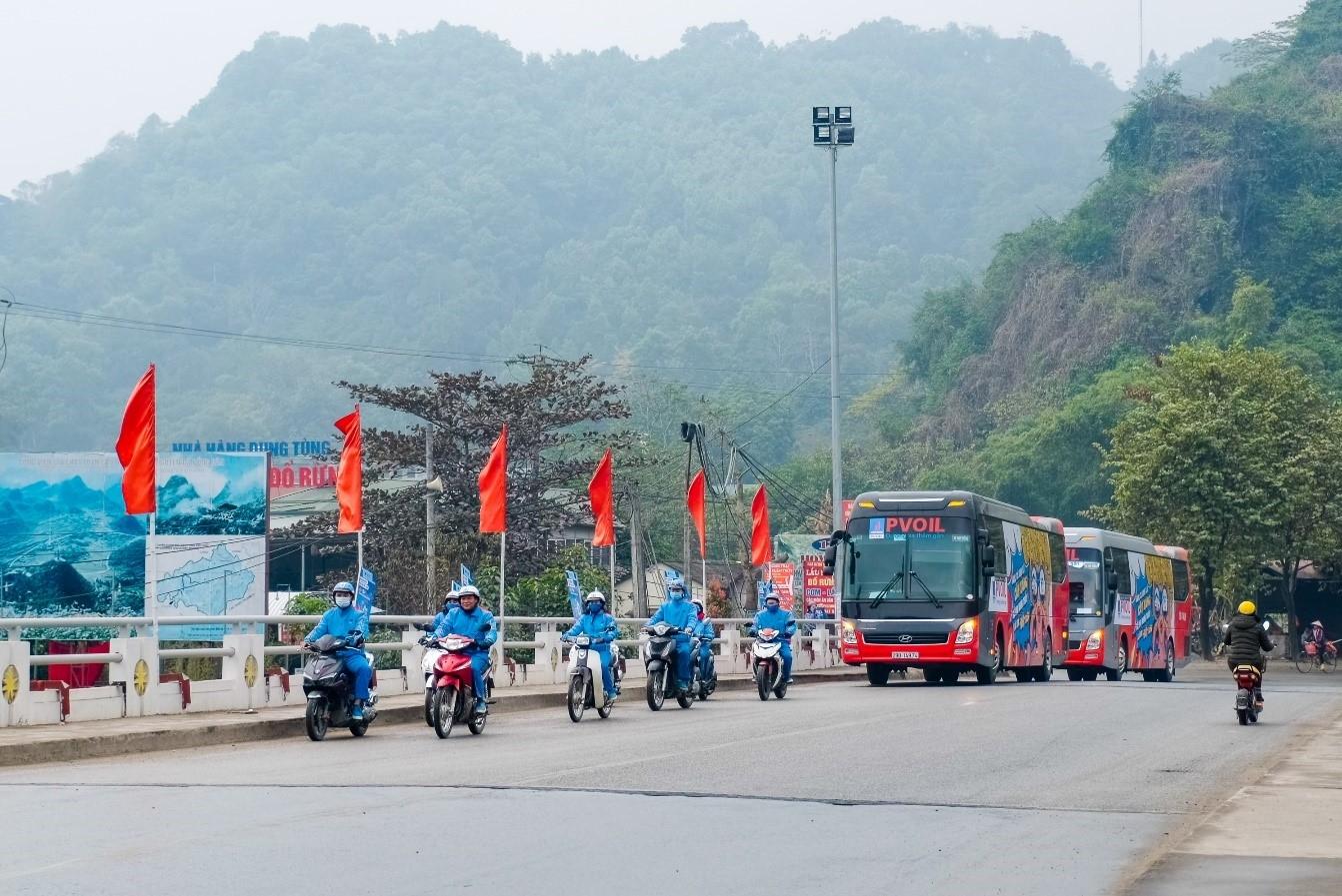 Trên phố núi Hà Giang