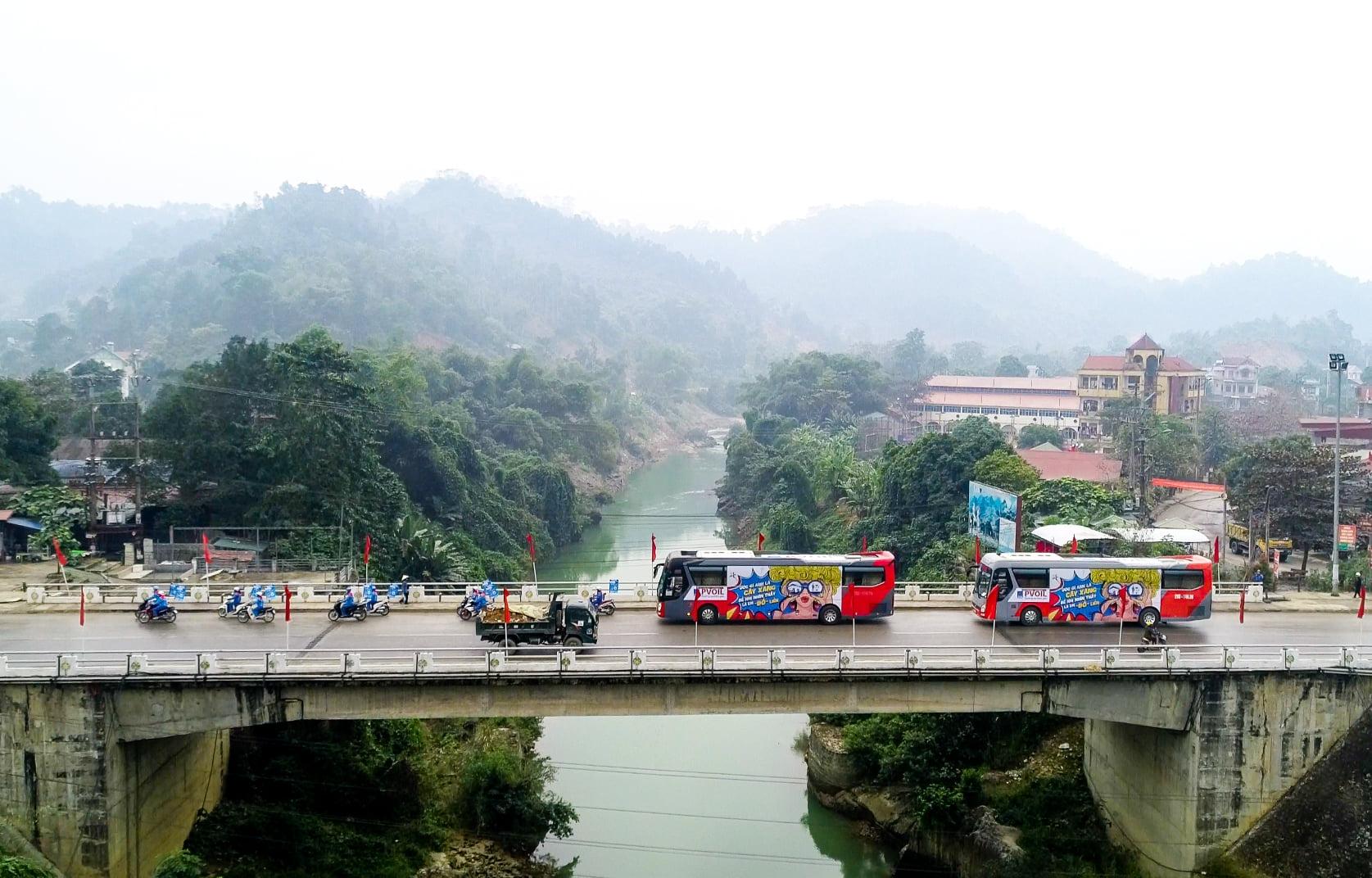 PVOIL Roadshow - Hành trình xuyên Việt