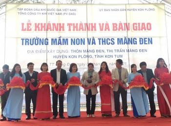 PV GAS tài trợ 12 tỷ đồng xây dựng trường học ở Kon Tum