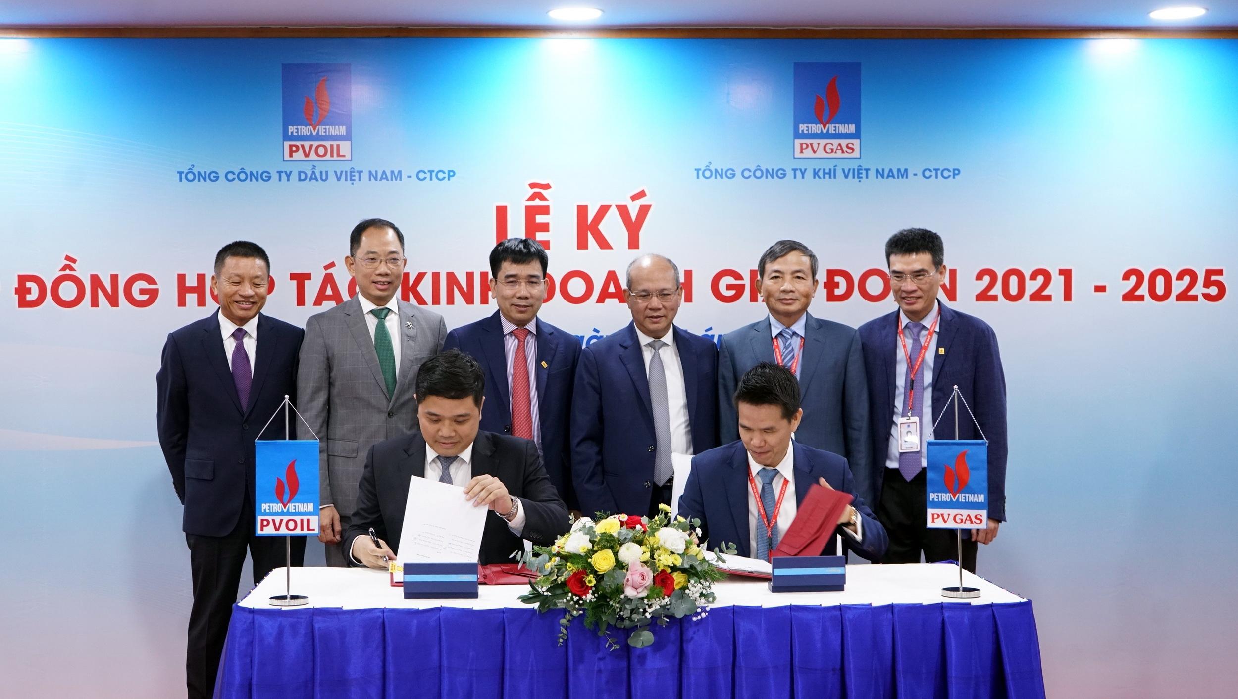 Nghi thức ký kết Hợp đồng Hợp đồng hợp tác kinh doanh giai đoạn 2021-2025