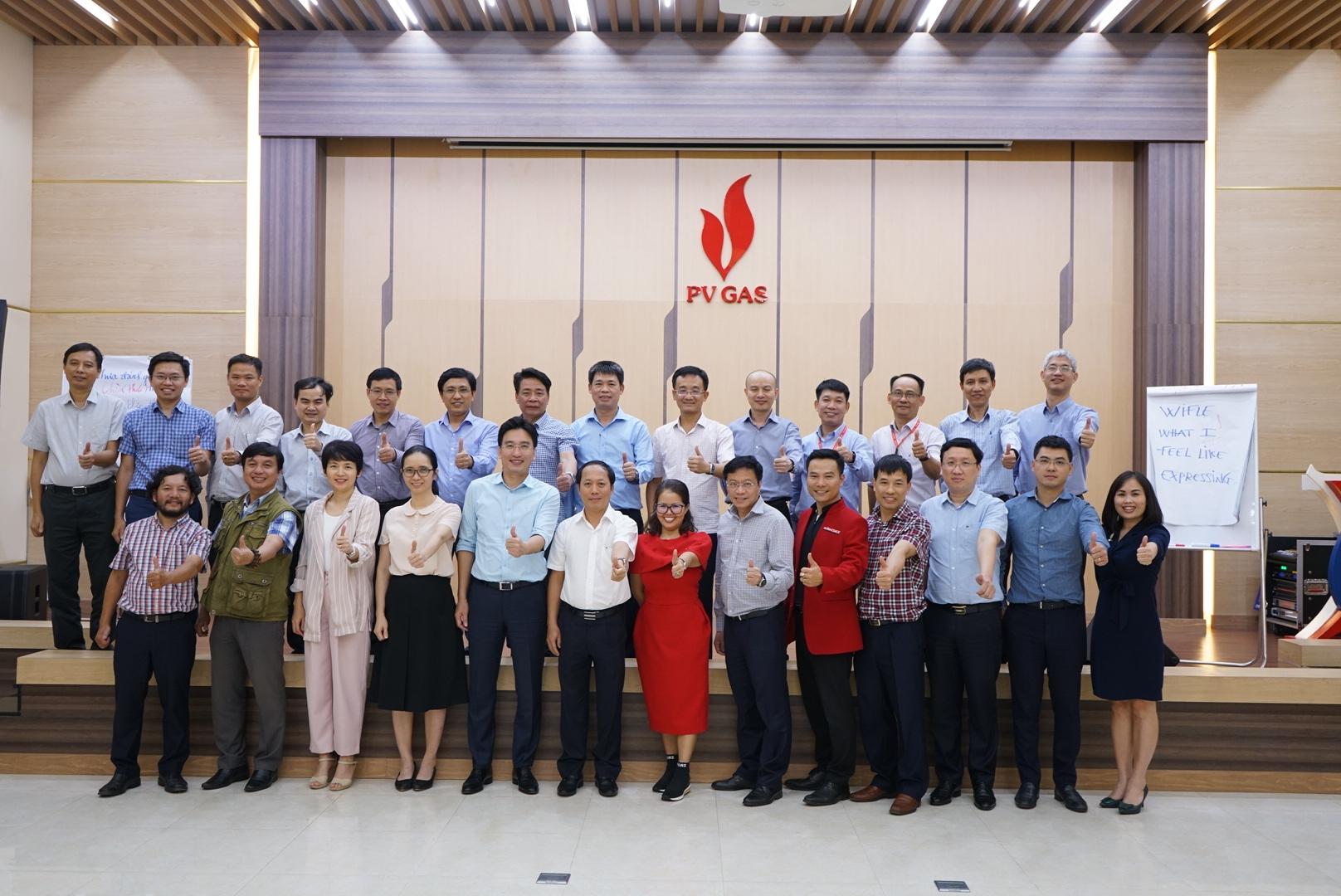 Thể hiện sự quyết tâm phát triển VHDN PV GAS